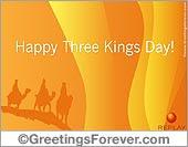 Happy Three Kings Day, Three Kings Day, ecards