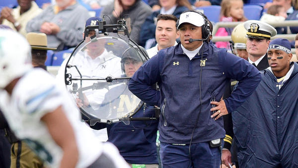 Coach Niumatalolo discusses Navy's win over Tulane