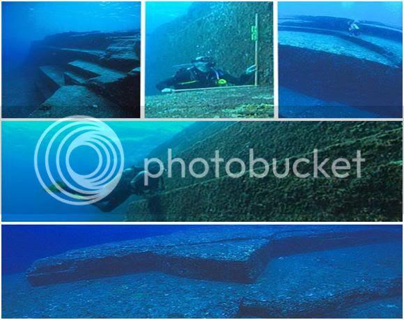 Underwater Ruins in Japan