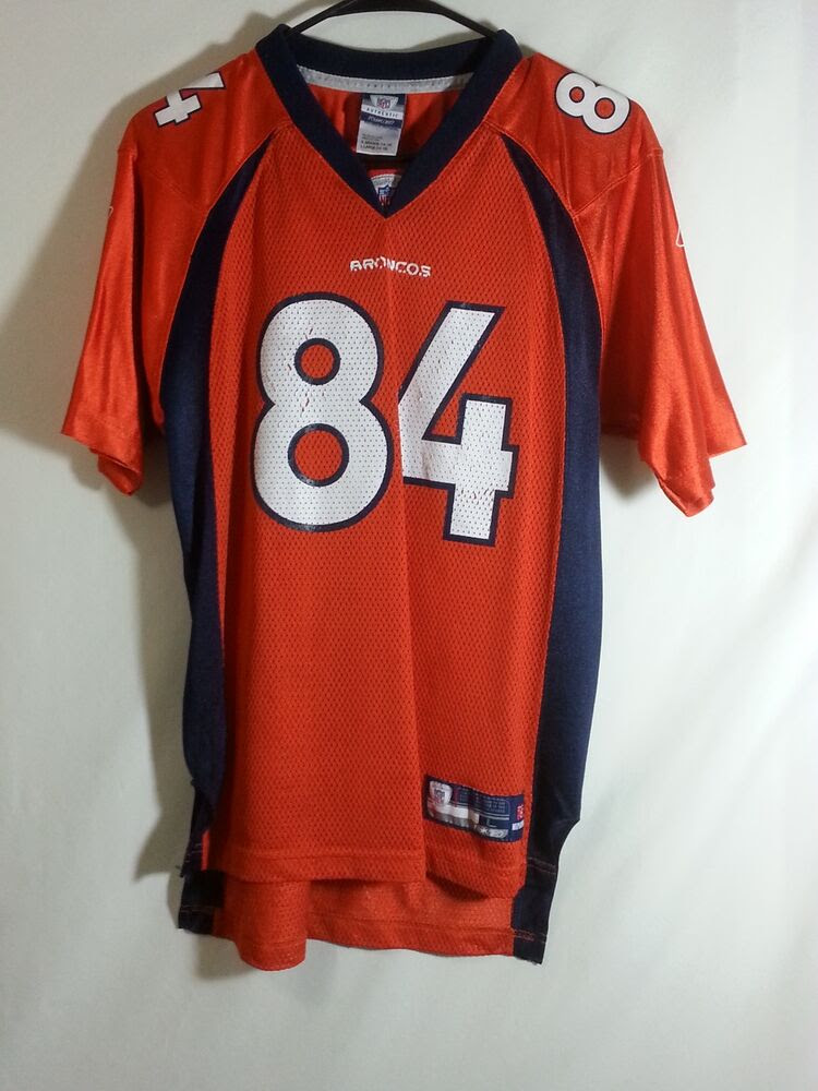 Javon Walker Denver Broncos NFL Football Jersey Reebok Size Youth Large eBay