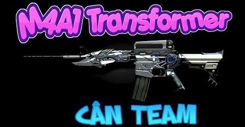 TXT - M4A1 VIP TRANSFORMER - ZOMBIE V4