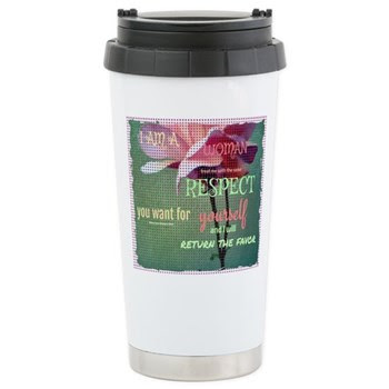 Inspire Respect Stainless Steel Travel Mug