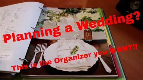 The Knot Ultimate Wedding Planner & Organizer Review   YouTube