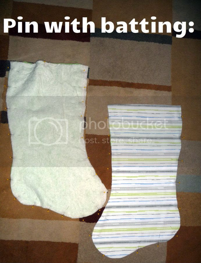 easy christmas stocking sewing tutorial