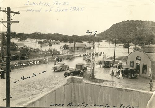 Junction Texas June 1935 flood