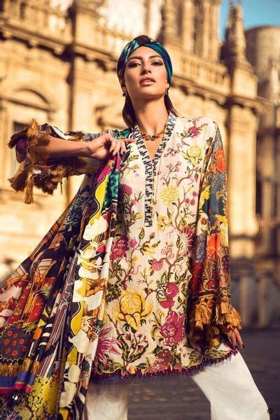 Elan Lawn Spring Summer Collection 2017  Luxury Designer