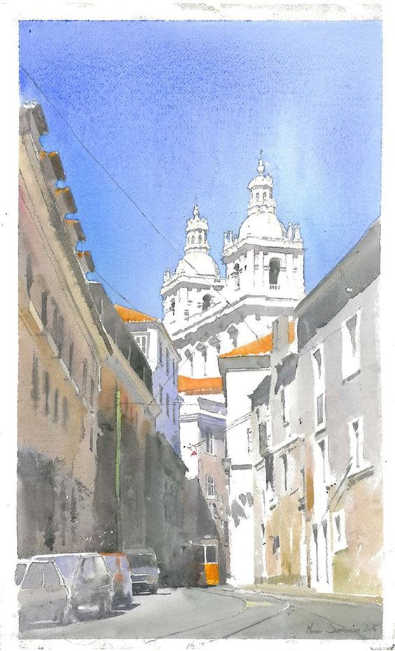 architectural water colors 1