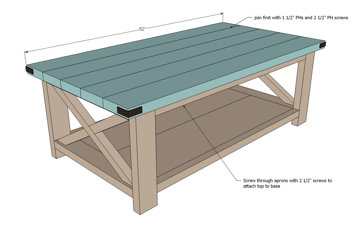 Woodworking Coffee Table Designs