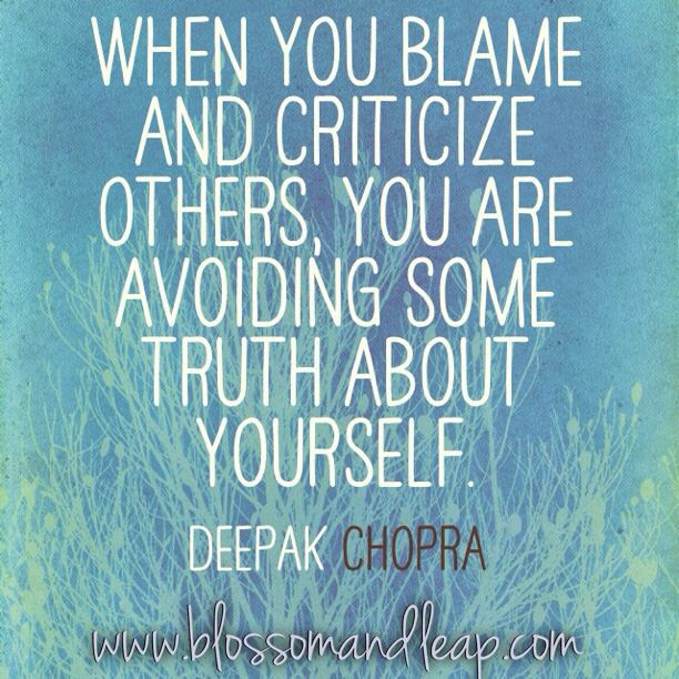 Quotes About Blaming Others 89 Quotes