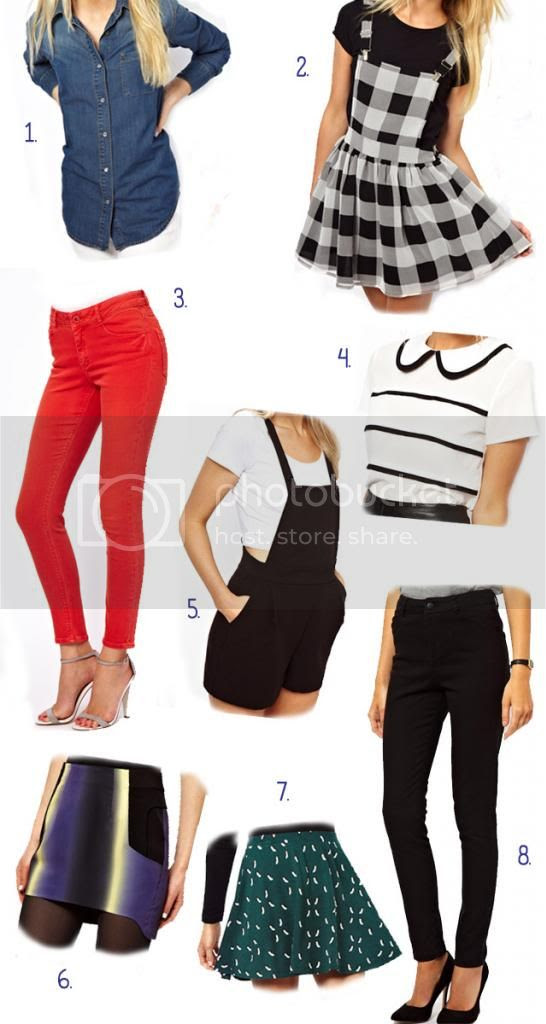 ASOS Petite Collection Fall Wishlist