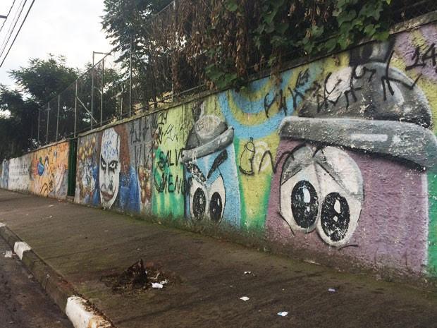Adolescente foi estupada em quadra de escola em Osasco, na Grande São Paulo, em fevereiro de 2015 (Foto: Paula Paiva Paulo/G1)