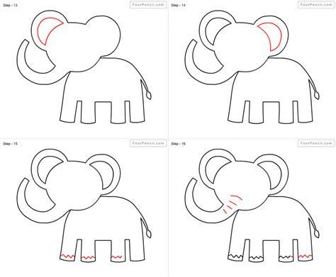 easy step  step animals drawings art gallery