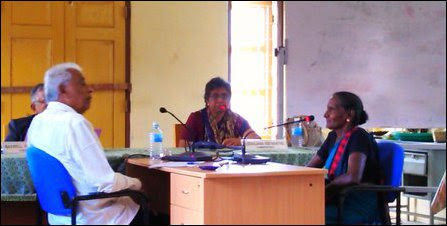 PCICMP session in Poonakari