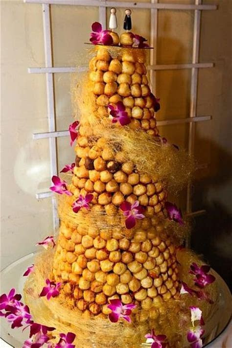 Top 5 French Wedding Croquembouches ? Candy Cake Weddings