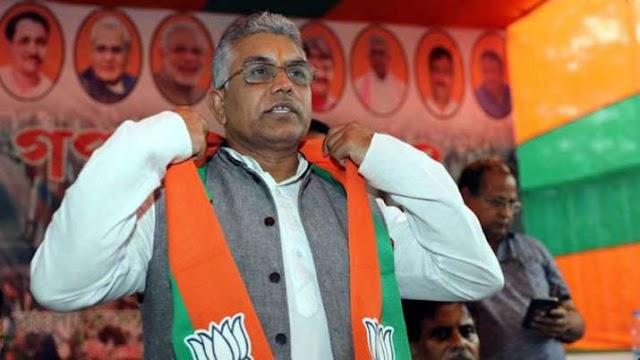 पश्चिम बंगाल भाजपा के अध्यक्ष दिलीप घोष कोरोना वायरस से संक्रमित