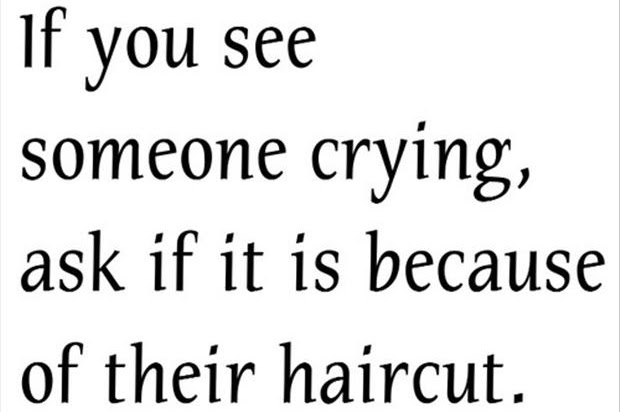 Quotes About Cutting Of The Hair 27 Quotes