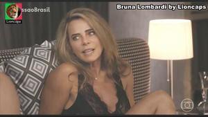 Bruna Lombardi sensual no filme Amor em Sampa