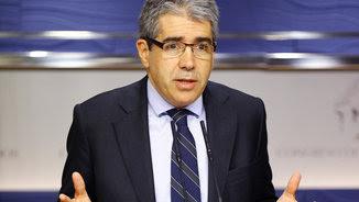 Francesc Homs, al Congrés (ACN)