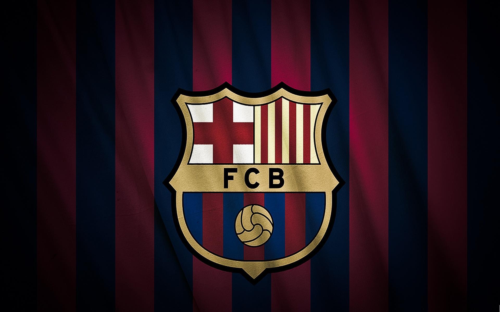 Barcelona Logo Wallpaper | PixelsTalk.Net