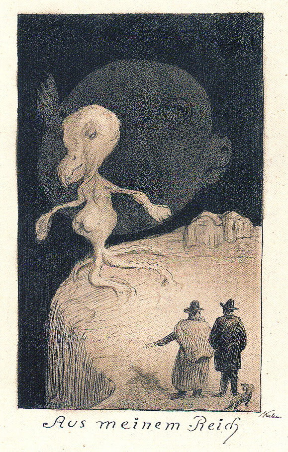 Alfred Kubin - From My Realm, 1900