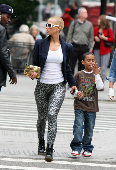 amber rose and kanye west at the beach. Amber Rose (Kanye West#39;s