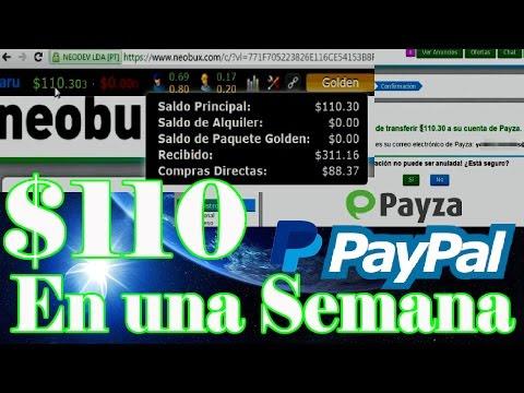 10 Formas De Ganar Dinero Por Internet Con Neobux - Por Paypal, Payza, Neteller o Skrill
