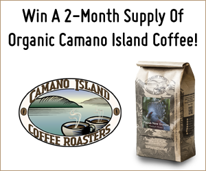 Enter the Whole Mom: Camano Island Coffee Giveaway. Ends 8/29/15
