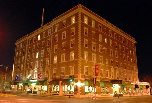 The Hawthorne Hotel at Night