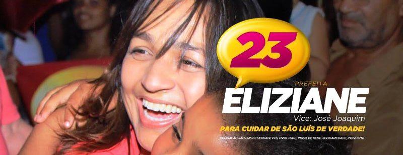 Eliziane recebendo oc arinho de crianças; imagens captadas no meio da emoção da campanha