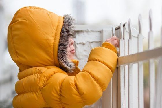 Cuidados del niño en invierno