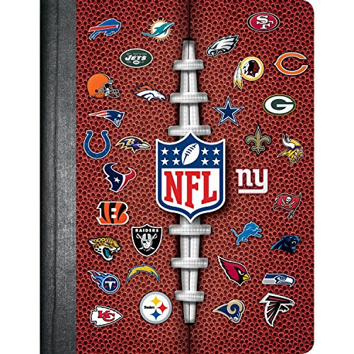 C.R. Gibson Composition Book, AllTeam NFL N901971 Media Books Non Fiction Sports Books