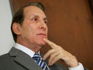 O presidente do PMDB paulista e candidato ao Senado por São Paulo, Orestes Quércia