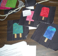 Some of the Popsicle blocks