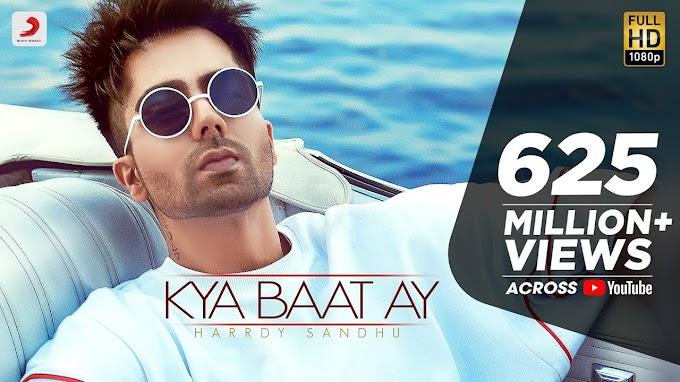 Kya Baat Hai Lyrics – Hardy Sandhu