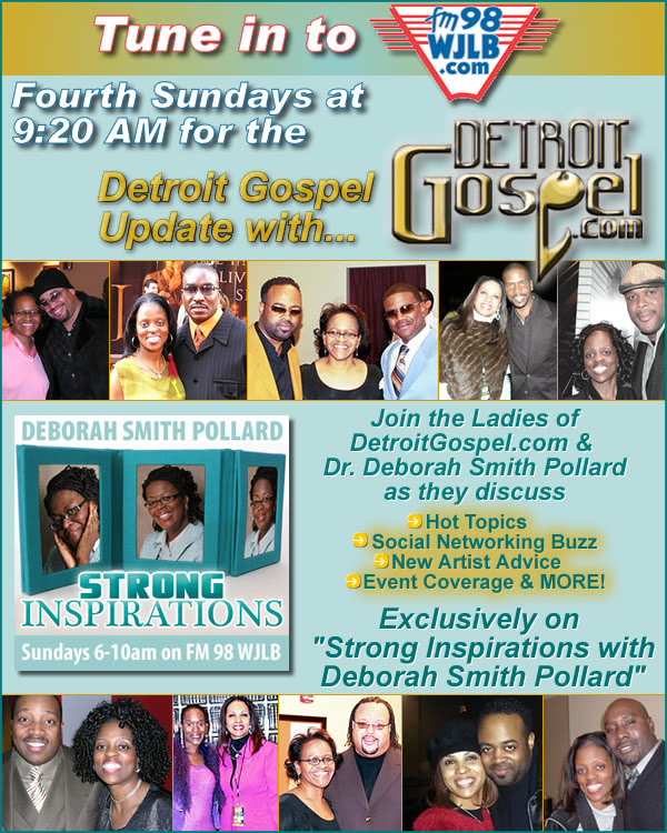 Detroit Gospel Update w/DetroitGospel.com