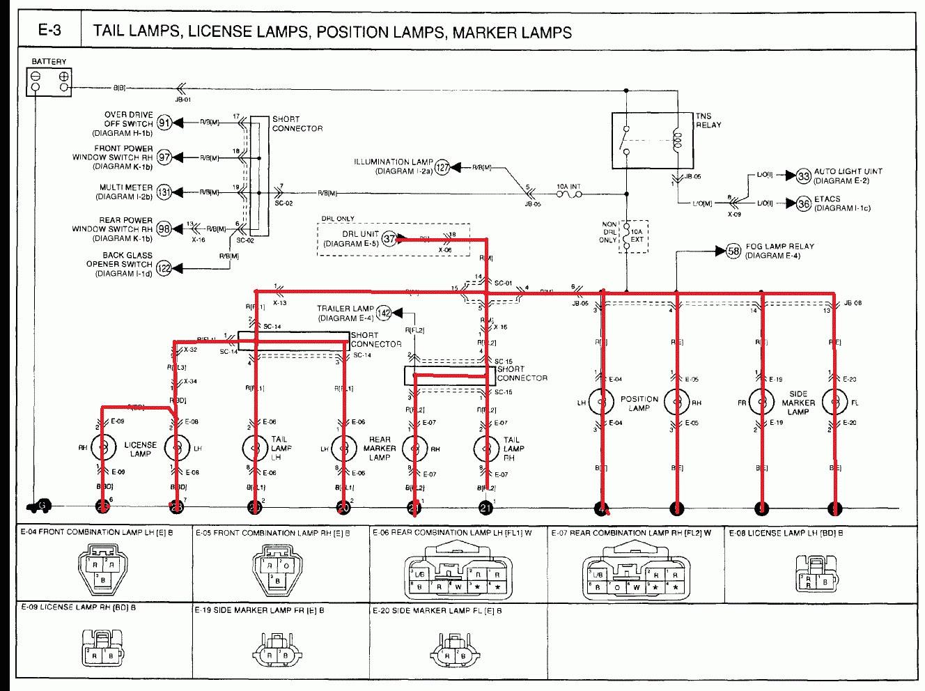 2002 Kia Spectra Fuse Box Diagram