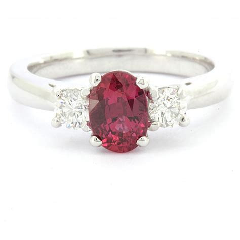 ct  stone oval ruby ring gr ireland commins