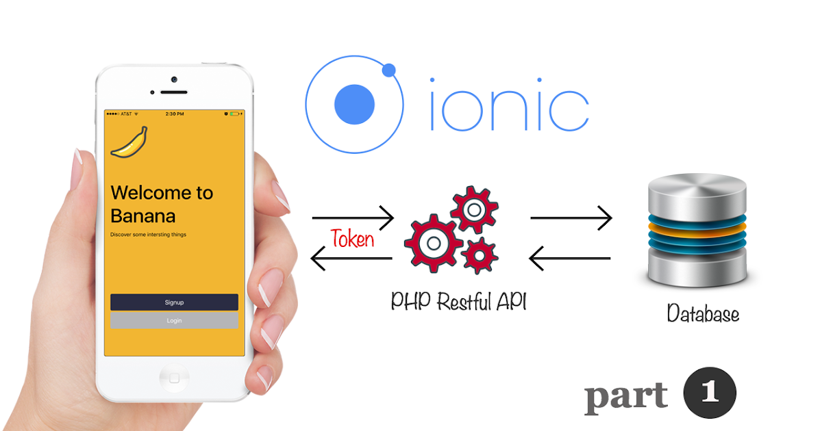 Ionic 3 and Angular 4: PHP Restful API User Authentication for Login