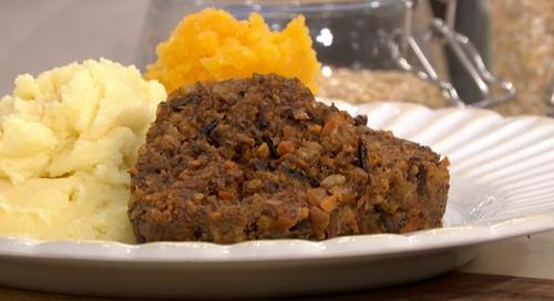 Phil Vickery vegetarian haggis recipe on This Morning ...