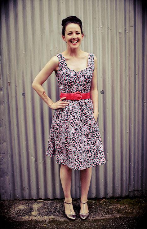 Spotty Dress #3