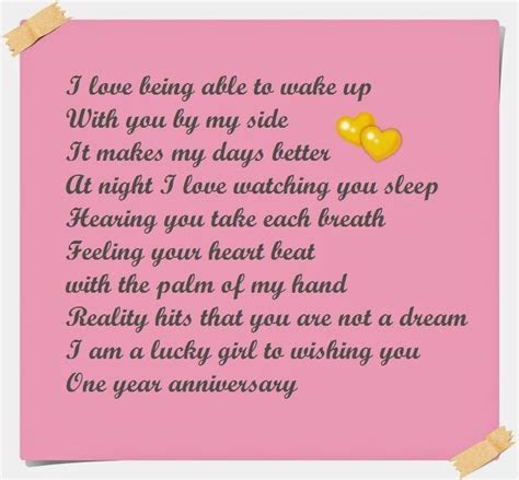 Adorable Happy Anniversary Poems to Wish your Partner