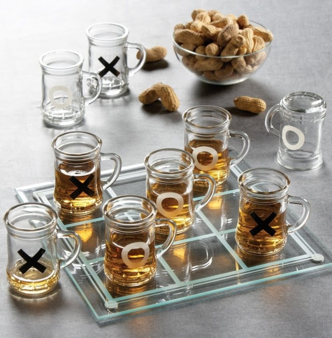 Tic Tac Toe Drink Glass1 650x662 Daily Most Cool Things #4