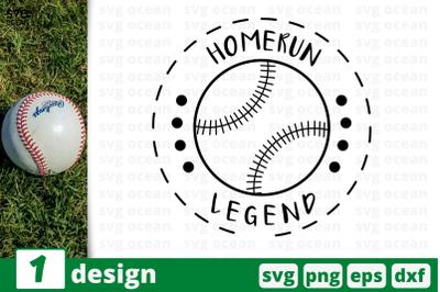 Download Free 1 HOMERUN LEGEND bundle quotes cricut SVG, PNG, EPS ...