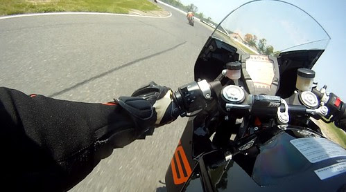 Riding the RC8R Onboard