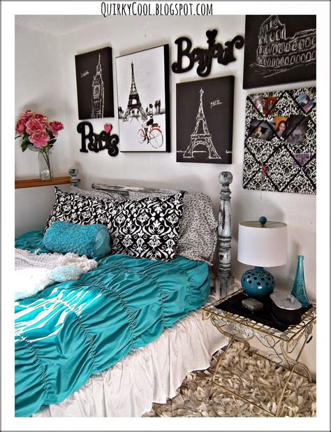 quirky cool  parisian chic room  diy party