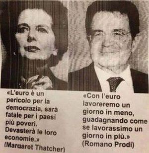 Thatcher e Prodi