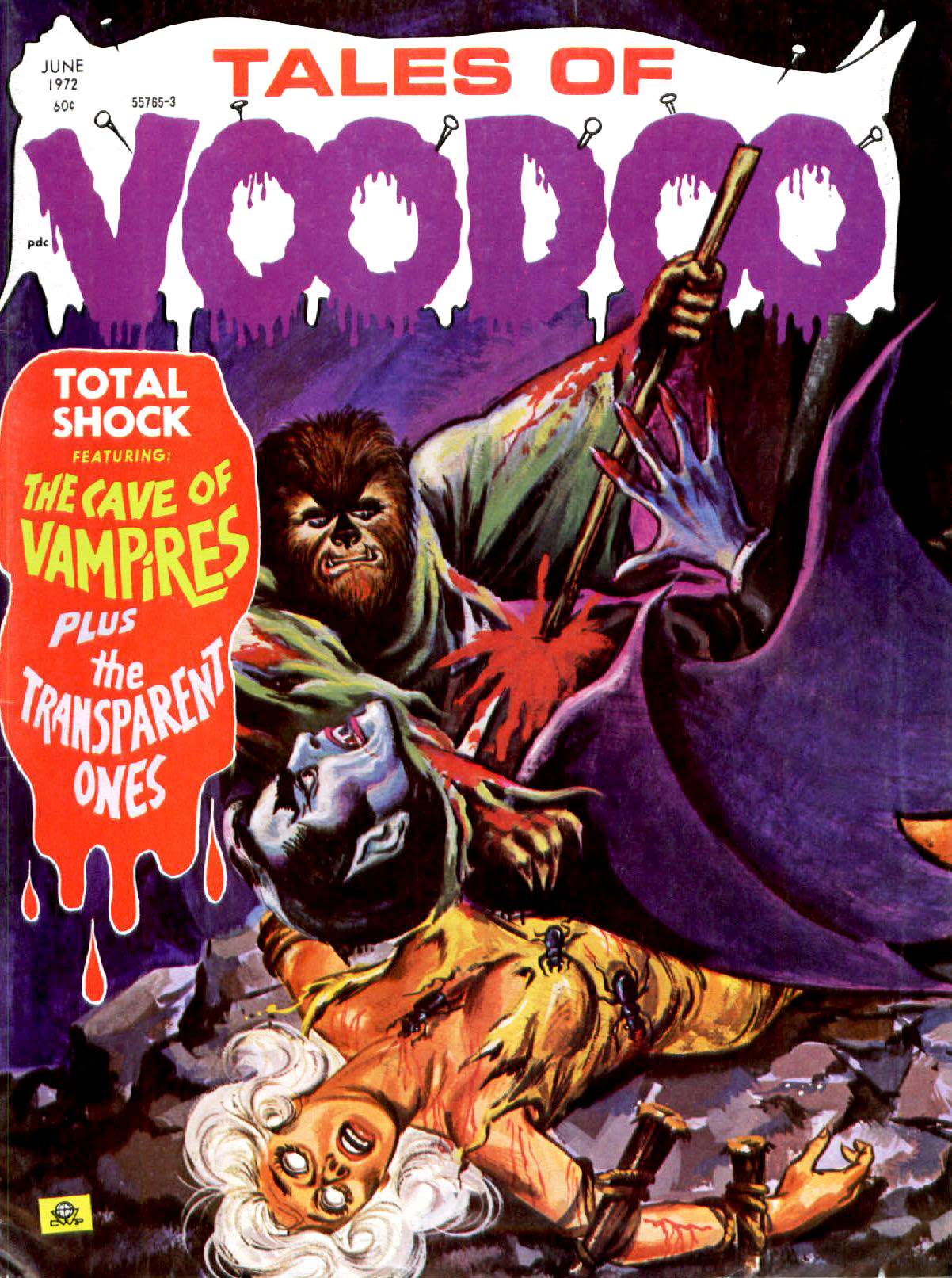 Tales of Voodoo Vol. 5 #4 (Eerie Publications 1972)