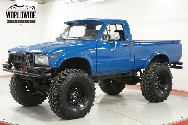 1982 TOYOTA HILUX TRUCK. NEW PAINT. V8 CONVERSION! 4x4 ...