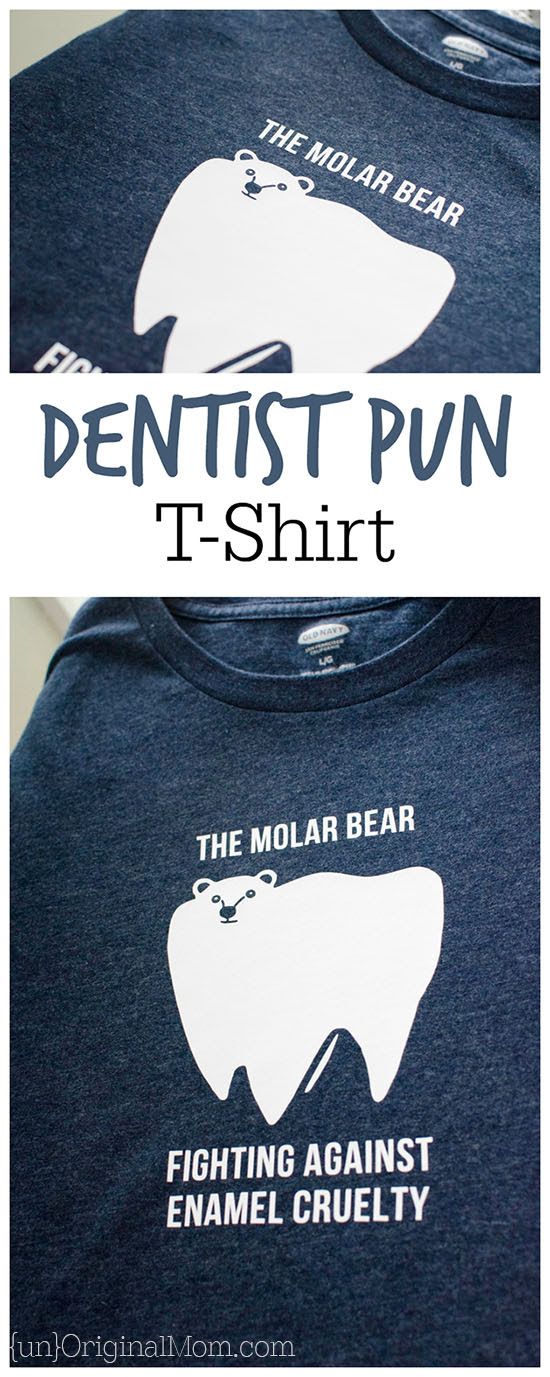 Molar Bear Dentist Pun Shirt - unOriginal Mom