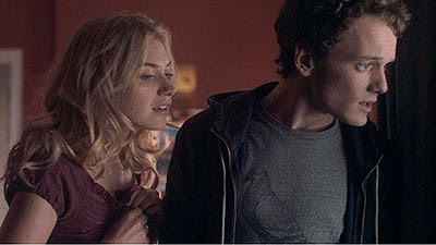 Anton Yelchin and Imogen poots